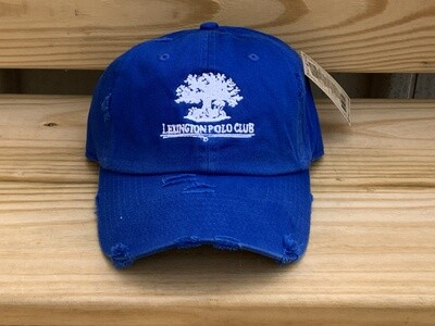 Low Profile Cotton Non-Distressed OR Distressed Hat  - (LPC)