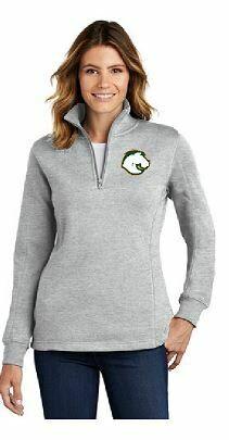 Sport Tek Ladies 1/4 Zip Fleece Pullover -Choice of Logo