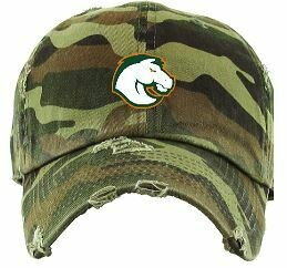 Distressed Hat with Bronco logo (FDBS)