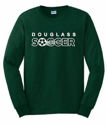 Gildan Long Sleeve T-Shirt - Douglass Soccer (FDGS)
