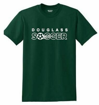Adult Sport Tek Short Sleeve Forest T-shirt - Douglass Soccer (FDGS)