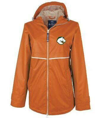 Ladies Charles River New Englander Rain Jacket - Choice of Douglass Logo (FDGS)