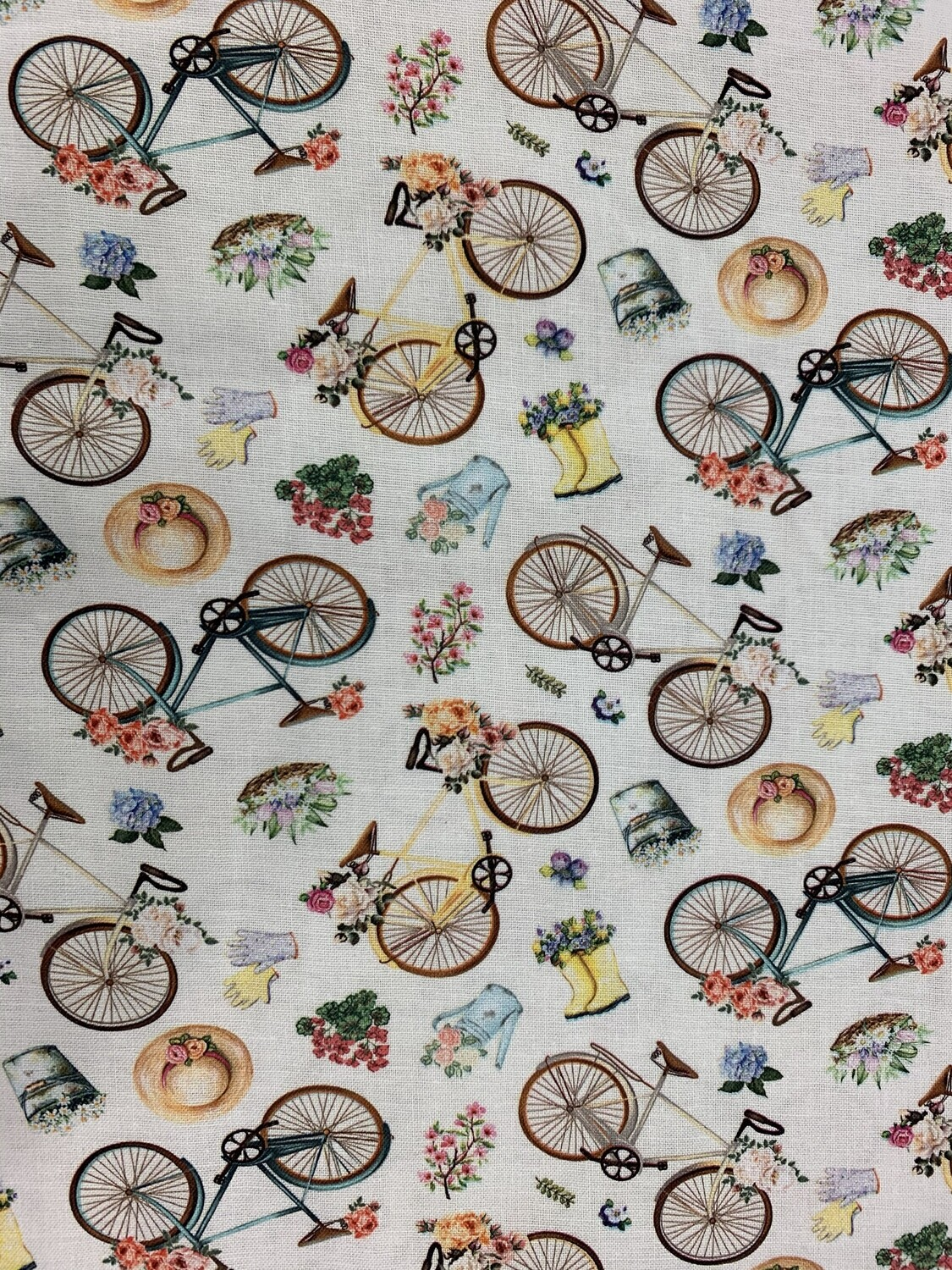 Bicycles Cotton Fabric Face Mask