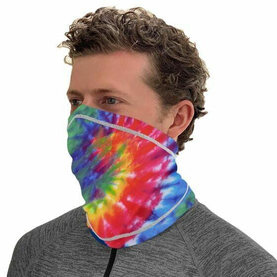 Tie-Dye Neck Gaiter
