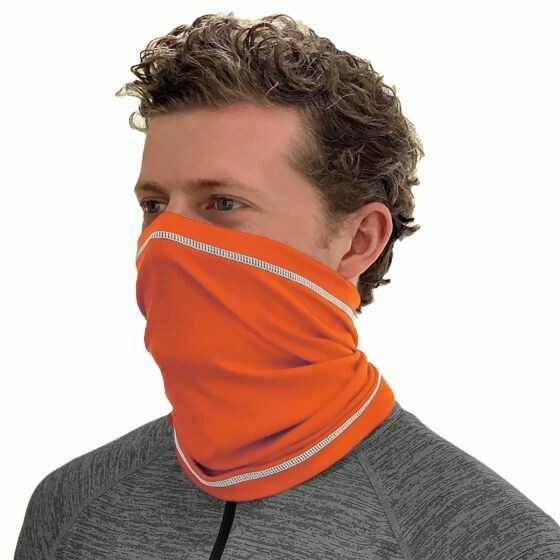 Orange Neck Gaiter