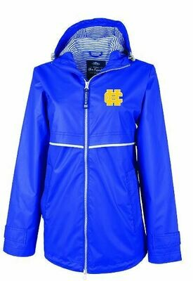 Ladies Charles River New Englander Rain Jacket with HC Logo (HCGG)