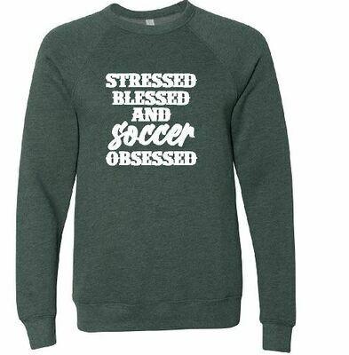 Soccer Obsessed Sponge Fleece Pullover - UNISEX (FDBS)