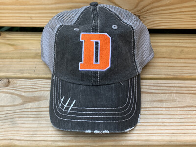 Distressed Trucker Hat - Choice of Logo (FDBS)
