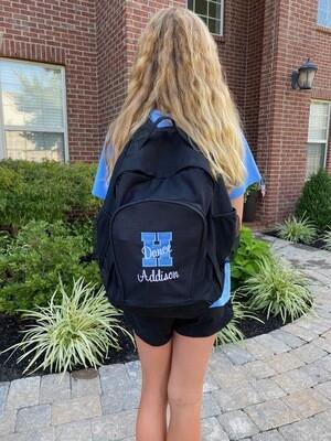 Augusta Black Backpack