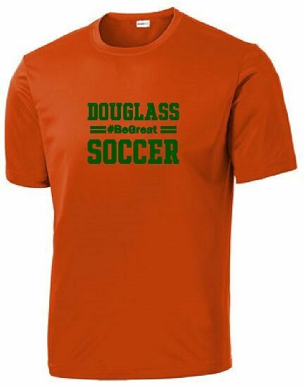 #BEGREAT Douglass Soccer Performance Shirt YOUTH and ADULT (FDBS)