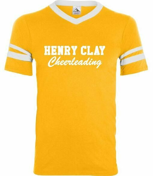 Henry Clay Cheerleading Gold Jersey