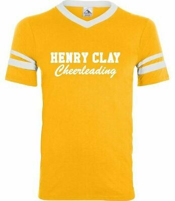Henry Clay Cheerleading Gold Jersey