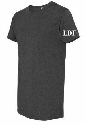 Men's LDF Grey Long Body Urban Tee