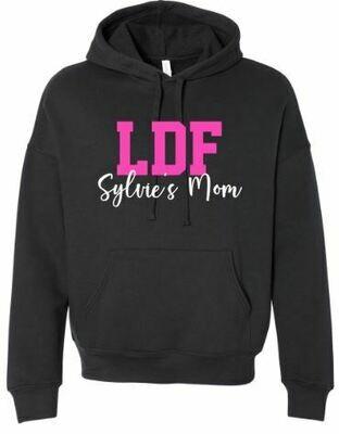 LDF Dance Mom Sponge Fleece Drop Shoulder Hoodie