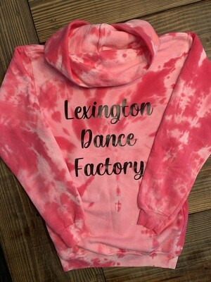 Youth LDF Pink Tie-Dye Hoodie (LDF)