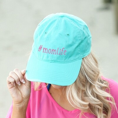 #momlife Mint Cap
