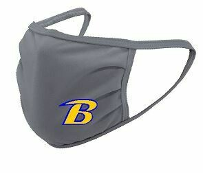 Breckinridge Gray Face Mask (Youth or Adult Option)