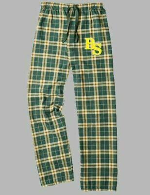Boxercraft Green/Gold Flannel Pants (BSB)