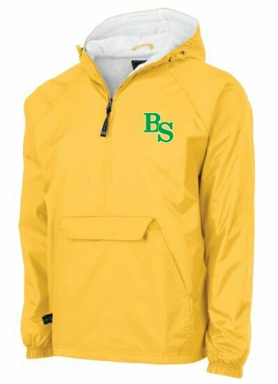 Charles River BS Logo Classic Pullover with option to add sport or club under logo. (BSB)