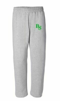 Open Bottom Sweatpants with BS logo(BSB)
