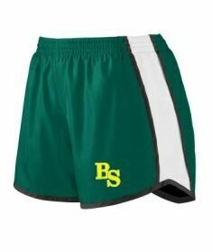 Dark Green Pulse Shorts with BS logo (BSB)