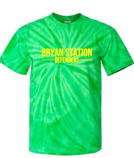 Bryan Station Defenders Tie-Dye Short Sleeve Tee (BSB)