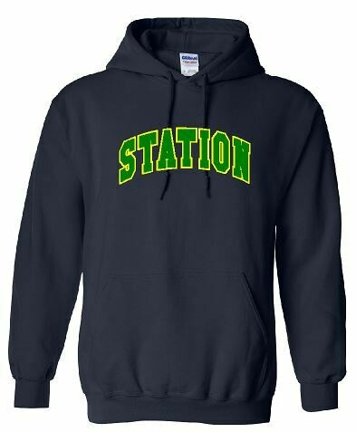 Station Hoodie with option to add sport or club under logo. (BSB)