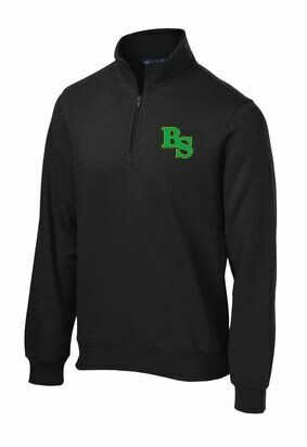 Sport-Tek 1/4 Zip Fleece Pullover with BS Logo with option to add sport or club under logo. (BSB)