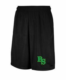 Black Mesh Shorts with BS logo (BSB)