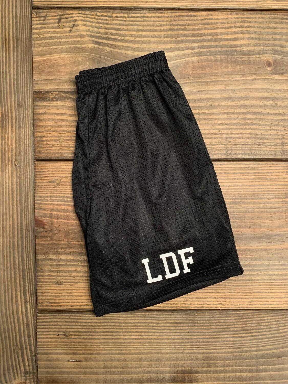 Black LDF Classic Mesh Shorts (Youth & Men's)