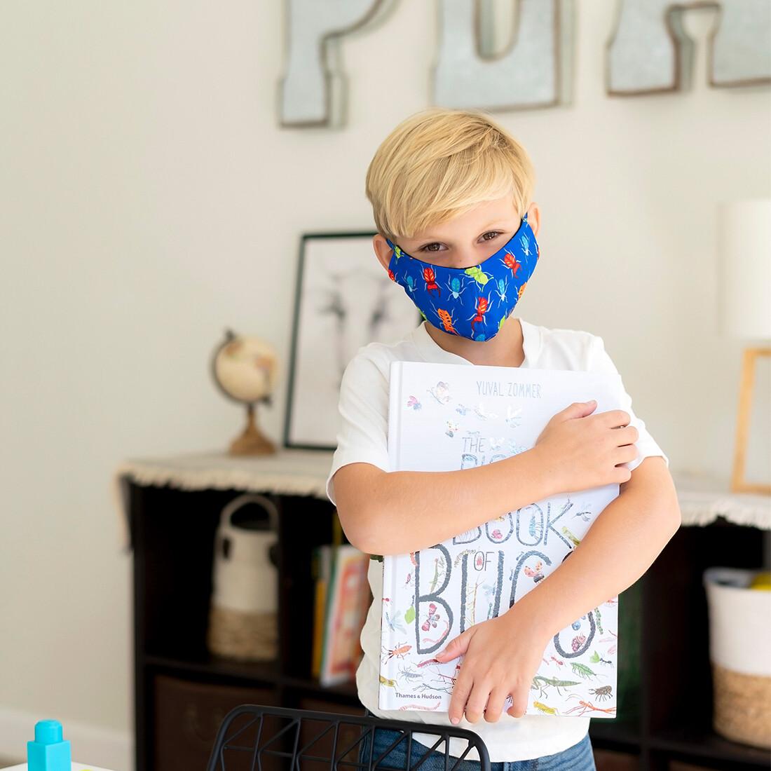 Bugs Adjustable Kids' Face Mask