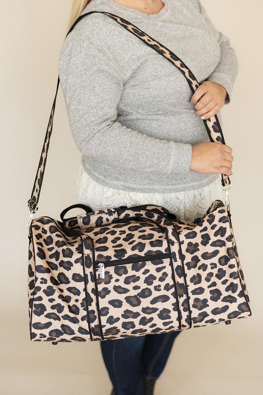 Leopard Duffel Bag