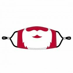 Santa Adjustable Adult Face Mask