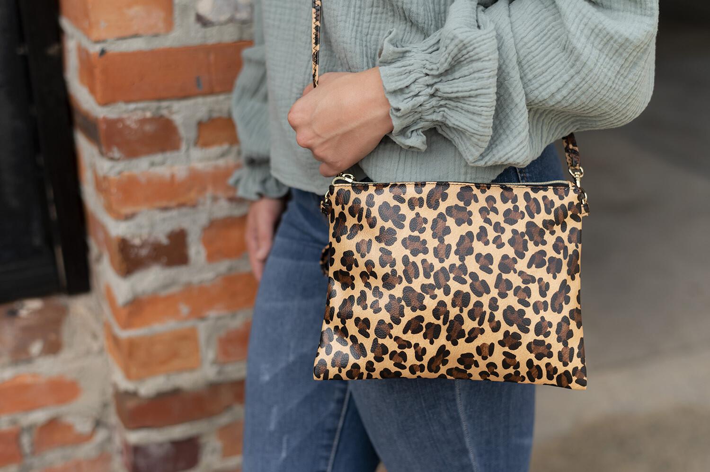 Leopard Hayley Purse