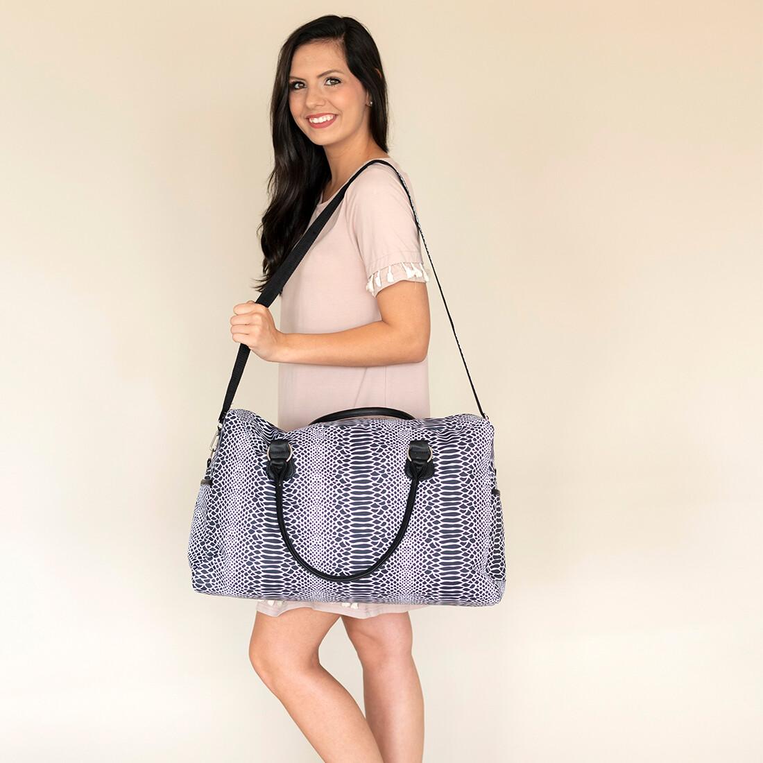 Snakeskin Travel Bag