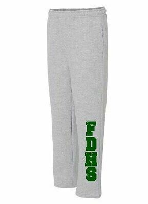 FDHS Open Bottom Sweatpants (FDD)