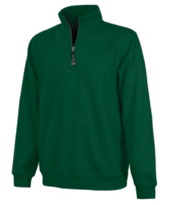 Charles River1/4 Zip Fleece Pullover with your choice of Douglass Logo (FDG)