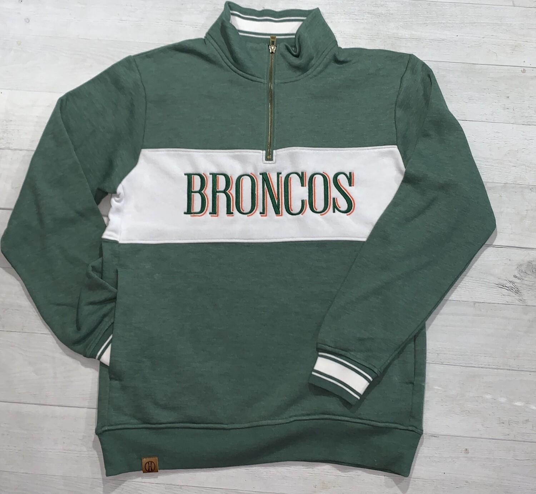Broncos Ivy League 1/4 Zip (FDD)