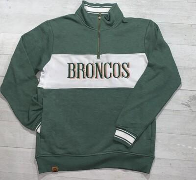 Broncos Ivy League 1/4 Zip (FDG)