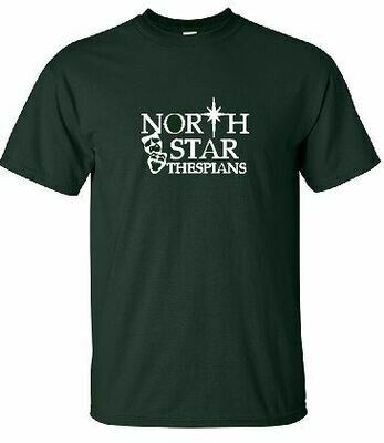 North Star Thespians T-shirt - 5 Color Options (Youth and Adult) (FDD)