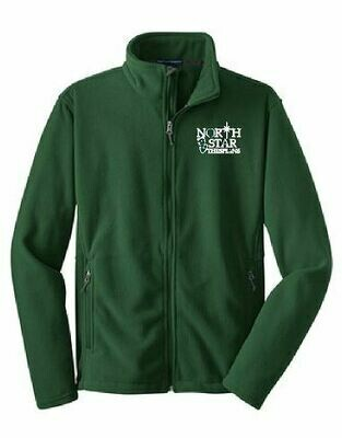 Port Authority Fleece Jacket with choice of left chest Logo (FDD)