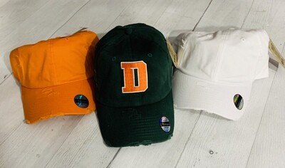 Douglass D Hat- Choice of style and color (FDD)