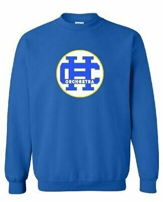 HC Orchestra Crewneck with Front Chest Design(HCO)