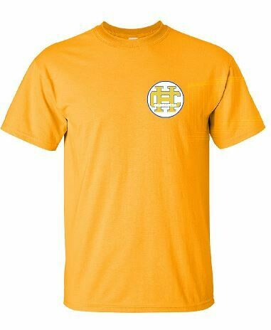 HC Orchestra Short Sleeve T-shirt with Left Chest Design(HCO)
