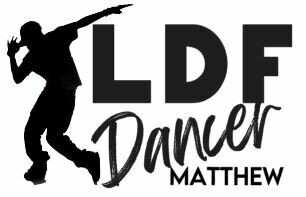 Personalized LDF Hip Hop Dancer Vinyl Adhesive Decal