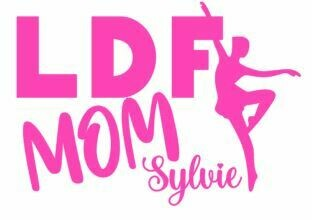 Personalized LDF Mom Vinyl Adhesive Decal (LDF)