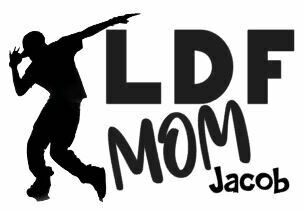 Personalized LDF Hip Hop Mom Vinyl Adhesive Decal