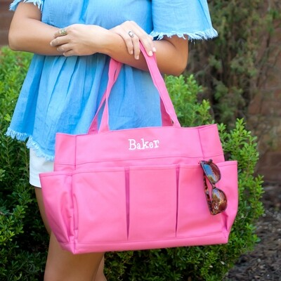 Hot Pink Carry All Tote Bag