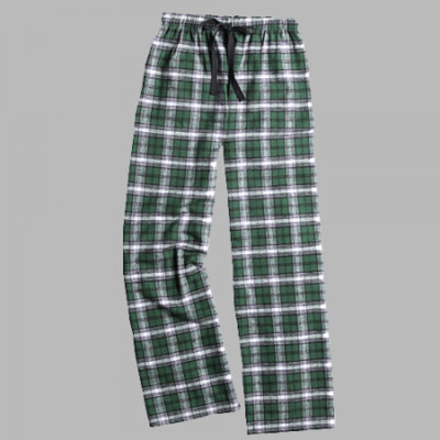 Adult Flannel Pant 5 color choices with choice of Douglass Logo (FDG)