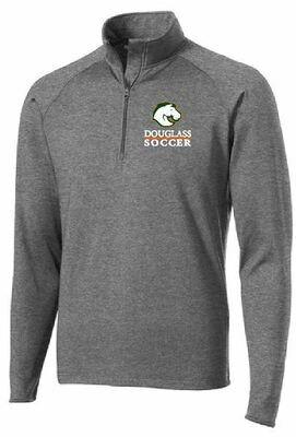 Sport Tek UNISEX Sport Wick 1/4 Zip Pullover -Douglass Soccer (FDGS)